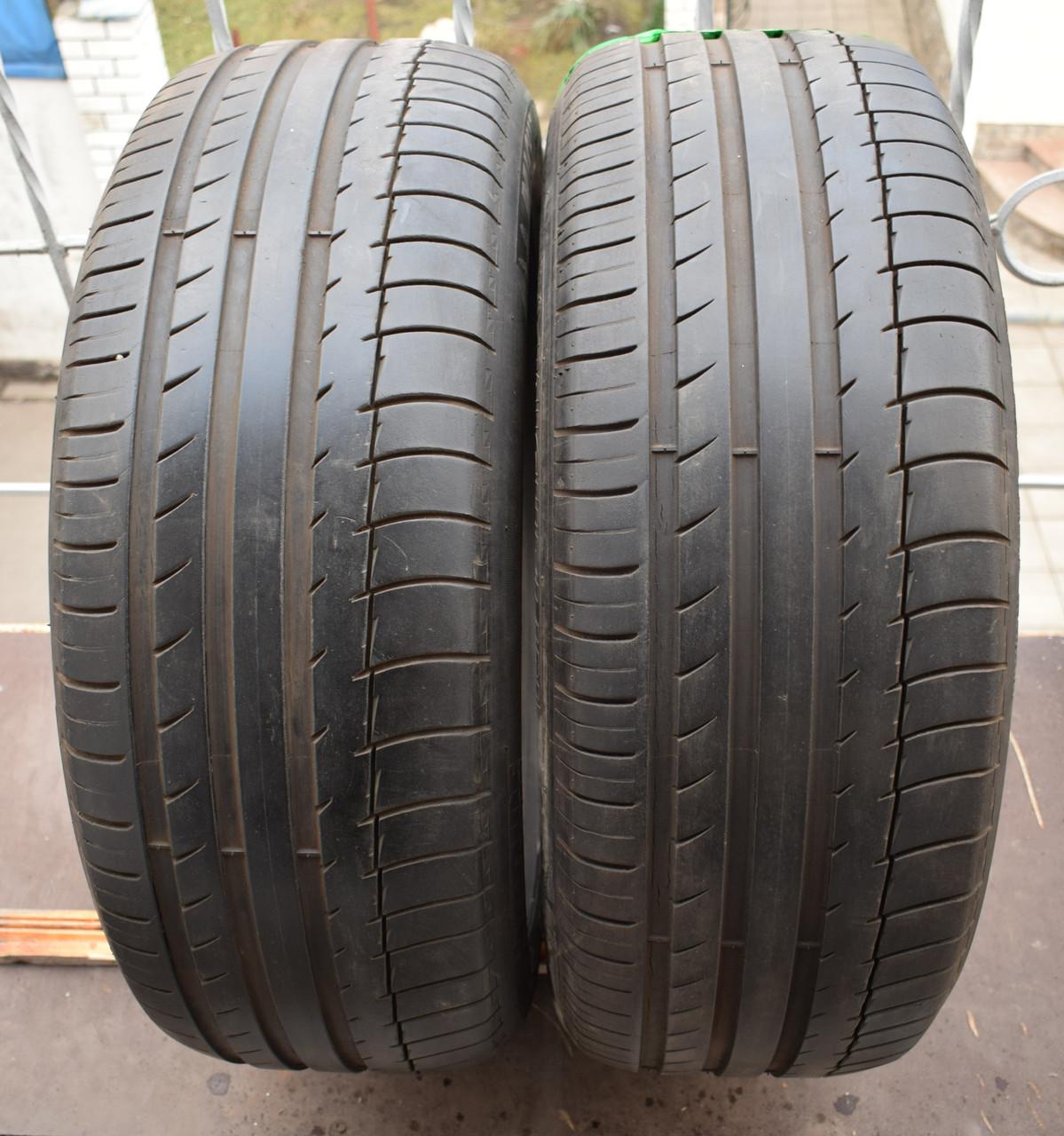Шины б/у 235/55 R19 Michelin Latitude, ЛЕТО, пара