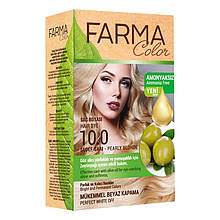 Крем - краска для волос без аммиака Farmasi Farma Color Турция / Far - 7090236 10.0 перламутровый блонд