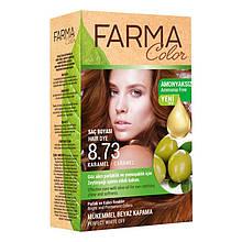 Крем - краска для волос без аммиака Farmasi Farma Color Турция / Far - 7090236 8.73 карамель
