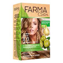 Крем - краска для волос без аммиака Farmasi Farma Color Турция / Far - 7090236 8.0 светло-русый