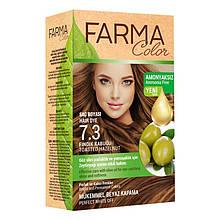 Крем - краска для волос без аммиака Farmasi Farma Color Турция / Far - 7090236 7.3 ореховый