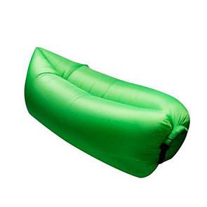 Надувной диван, зеленый