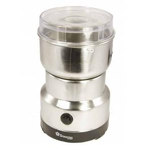 🔝 Кофемолка электрическая Domotec MS-1206 (Домотек), цвет - серебристый, с доставкой по Киеву, Украине | 🎁%🚚
