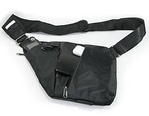 🔝 Сумка через плечо, кроссбоди , crossbody, сумка слинг, Черная. Это качественная, кросс боди сумка   🎁%🚚