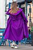 Длинное  женское демисезонное пальто на запах  из кашемира в 5-ти цветах с 42 по 60 размер, фото 6