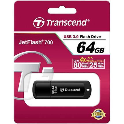 Флешка Transcend JetFlash 750 64GB, фото 2