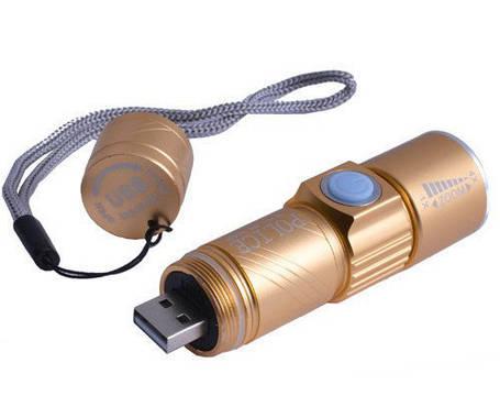Ліхтар поліцейський Bailong USB-501XPE, фото 2