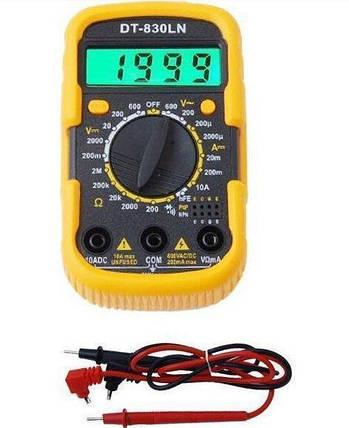 Мультиметр универсальный TS 830 LN (1 сорт), фото 2