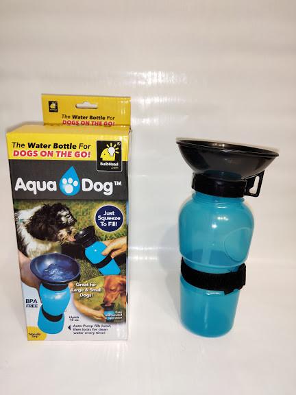 Портативная поилка для собак Dog Bottle 550 мл