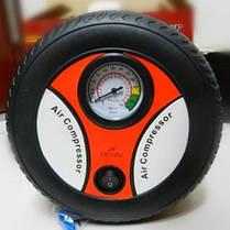 Автомобильный компресор колесо Air Compressor 260PSI DC-12V, фото 2