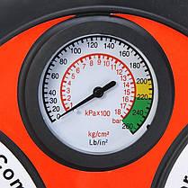 Автомобильный компресор колесо Air Compressor 260PSI DC-12V, фото 3