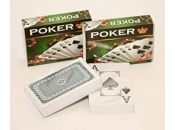 Пластиковые игральные карты i5-69, фото 2