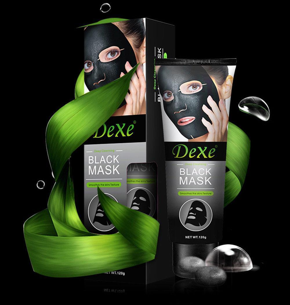 Маска для лица Dexe black mask