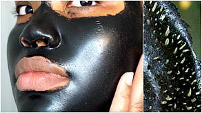 Маска для лица Dexe black mask, фото 3