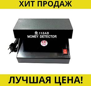 Money detector ультрафиолетовый детектор подлинности валют AD-118AB, фото 2