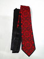 Чоловіча краватка червоно-чорна