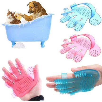Силиконовая щётка для мытья животных Pet Wash Brush, фото 2