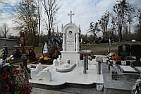 Памятники из мрамора белого Днепр, фото 1