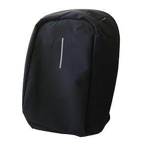 🔝 Рюкзак антивор, для ноутбука, с USB зарядкой, Bobby, (аналог Tigernu), цвет - чёрный   🎁%🚚