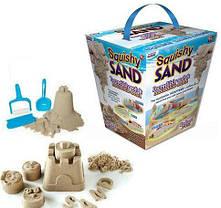 Интерактивная игрушка,Кинетический Песок Squishy Sand,игрушка для лепки,пластилин, фото 2