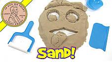 Интерактивная игрушка,Кинетический Песок Squishy Sand,игрушка для лепки,пластилин, фото 3