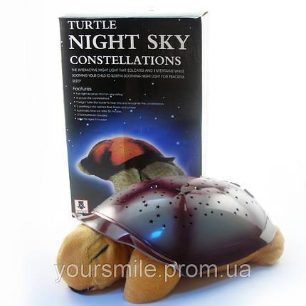 Музыкальная черепаха ночник проектор, фото 2