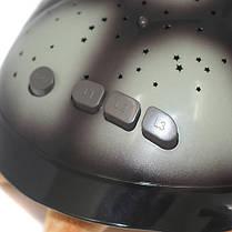 Музыкальная черепаха ночник проектор, фото 3