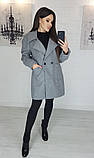 Пальто женское кашемировое, бежевое, серое, молочное, джинс, фото 9