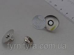 Магнит - кнопка 18мм * 4мм никель