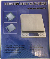 Мини весы Professional digital table top scale 2000g/0.1g, фото 3