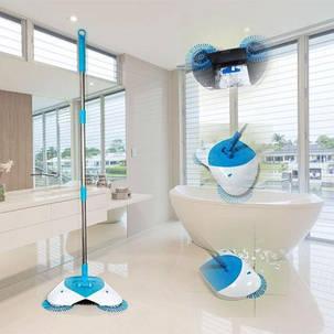 Универсальный электровеник для уборки Hurricane Spin Broom, фото 2