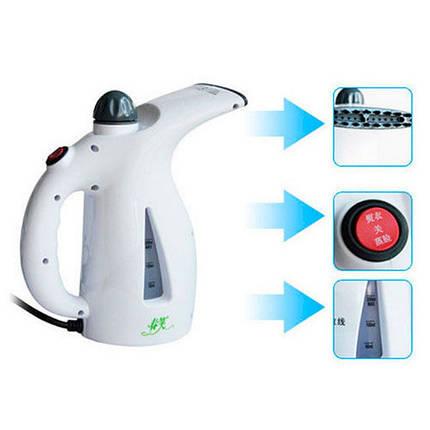 Ручний відпарювач Handheld Garment & Facial Steamer, фото 2