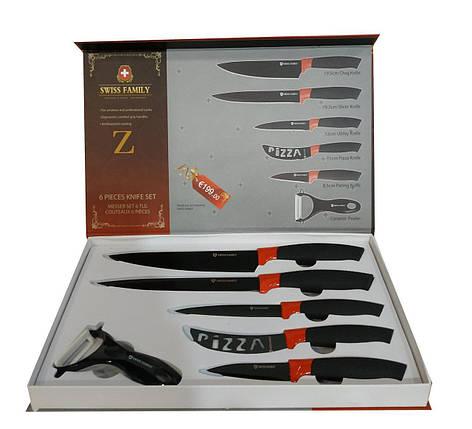 Набор ножей с нержавеющей стали Swiss Family SF-103, фото 2