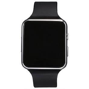 🔝 Смарт часы с камерой (Черные), умные часы Smart Warch X6 - доставка по Украине и Киеву   🎁%🚚