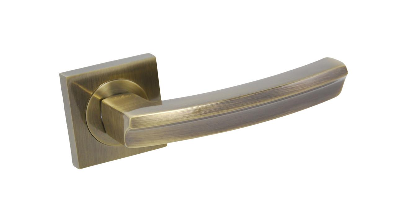 Ручка дверна на розетці SIBA Likiya, антична бронза
