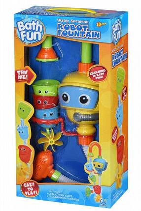 Игрушка для ванной Same Toy Puzzle Diver 9908Ut, игра для купания робот-фонтан, фото 2