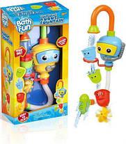 Игрушка для ванной Same Toy Puzzle Diver 9908Ut, игра для купания робот-фонтан, фото 3