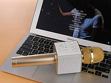 Мікрофон-караоке Q9 Bluetooth бездротової мікрофон караоке блютуз, фото 2
