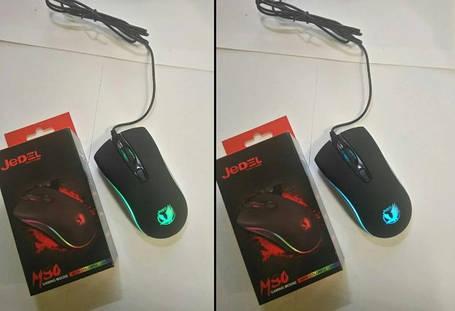 Мышь USB JEDEL M80 игровая с подсветкой RGB, фото 2
