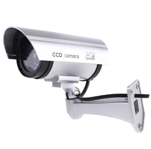 Відеокамера муляж PT 1100, Відеоспостереження, Відеокамера обманка DUMMY IR CAMERA PT 1100