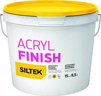 Шпатлевка Siltek Acryl Finish (Силтек Акрил Финиш) акриловая финишная 15 кг