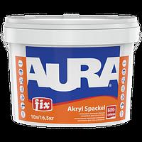 Акриловая финишная шпатлевка для стен и потолков Aura Fix Akryl Spackel 27 кг