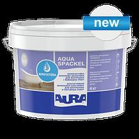 Влагостойкая акриловая шпатлевка для внутренних и наружных работ Aura Luxpro Aqua Spackel 4 кг
