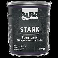 Грунтовка алкидная антикоррозионная ГФ-021 AURA STARK Красно-коричневый № 87 0,9 кг