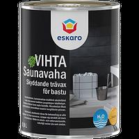 Декоративно-защитное средство для деревянных банных поверхностей Saunavaha variton (vihta) 0,9 л