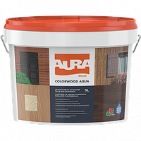 Декоративно-защитное средство для древесины Aura ColorWood Aqua (Аура Колор Вуд Аква) кипарис 0,07 л