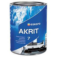 Моющаяся шелково-матовая краска для стен Eskaro Akrit 7 (Эскаро Акрит 7) 4.75 л