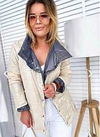 Топовая двухсторонняя курточка весны, фото 1