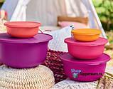 Яркий набор чаш АЛОХА 3 шт  1л / 2 л/ 4 л Tupperware купить со скидкой универсальные, фото 5