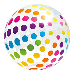 Мяч надувной Intex 59065 107 см Разноцветный